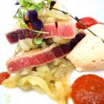 Tarantelo de atún rojo